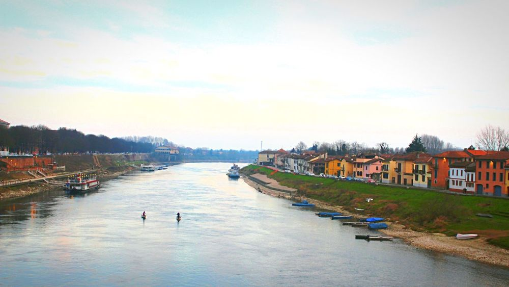Ticino River Autumn Colors Peace And Quiet Italy Italiancity Pavia Here Belongs To Me Things I Like