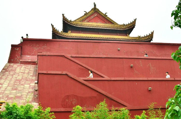 Temple - Building China Red Brown Wall Ancient Architecture Original Experiences