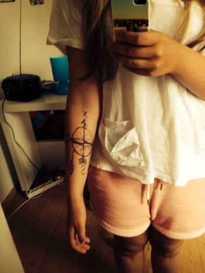 Tattoo ❤ Compass Love JcCaylan
