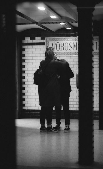 Camera - Canon 550D -Lens - 50 mm f/1.8 Blog : https://www.instagram.com/david_sarkisov_photography/ Architecture Real People Full Length Indoors  Men People Built Structure Rear View Illuminated Lifestyles Walking Text Subway Communication Adult Subway Station Building Public Transportation Standing Women Flooring Underground Walkway Streetwise Photography