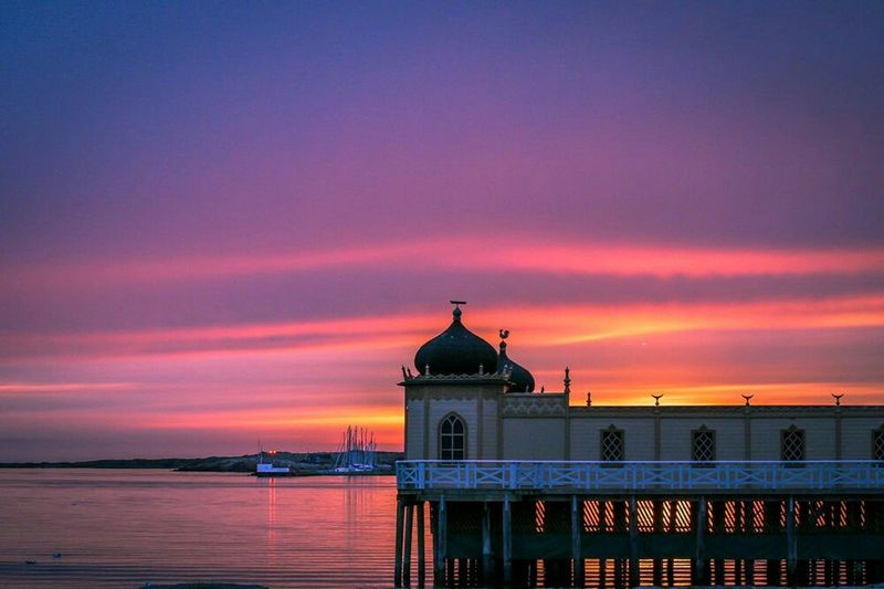 The magic of the mind is infinite. Check This Out Hello World Enjoying Life Sunset Pier Varberg, Sweden Sunset_collection EyeEm Nature Lover Nature_collection Architecture_collection Swedish Summer Sweden Varberg Summertime Sunset WestCoast