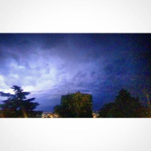 La tormenta tranqui de anoche... HDP
