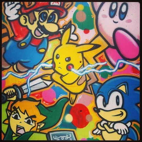 All graffiti should be like this! Graffiti Art Childhoodonawall Neverloseyourinnerchild <3