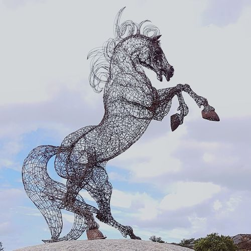 """"""" SYRIAN HORSE """" Sculpture by the artist Mohannad Soleman Art Installation Artists_united Artistic Eye Sculpturepark Sculptures In Nature Sculpture Park Sculpture Garden Artist Artworks ArtWork"""