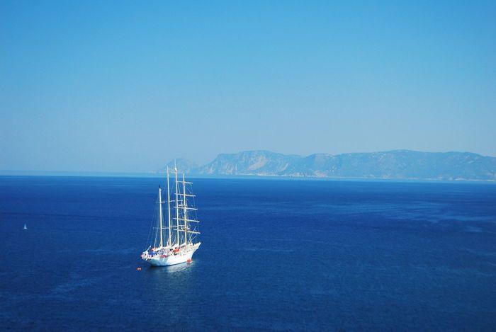 Sea Seaside Mediterranean  Skopelos Greek Island Aegean Sporades Aegean Sea Cruise Ship
