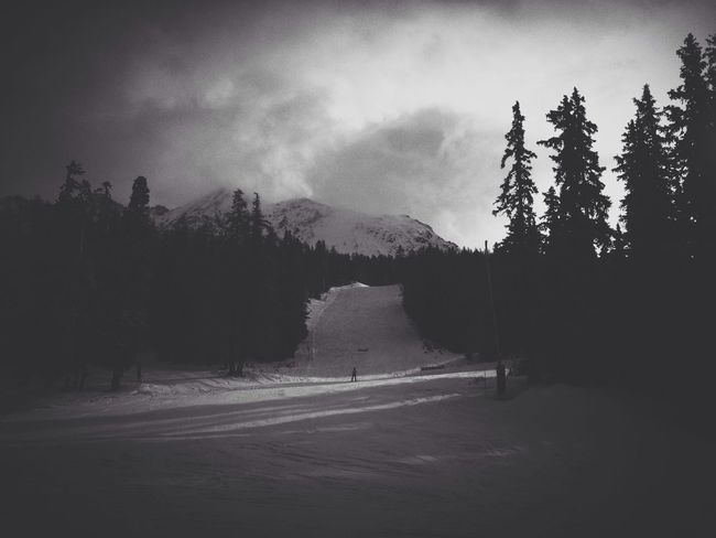 Les Arcs - Alpes - Janvier 2015 Skiing Alps Blackandwhite Escaping Mountains France VSCO Vscocam Vscocam #vsco Traveling