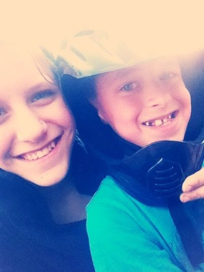 With My Little Brother!