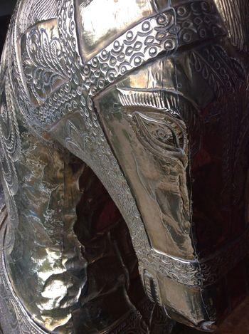 Hydrabad Iron Decorative Horse decorative metal work Traditional Indian Iron Work pattern India