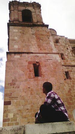 No Selfie Amayahuatlan Oaxaca México  Dando El Rol en la Iglesia ... Tower of Church ... This Is Me
