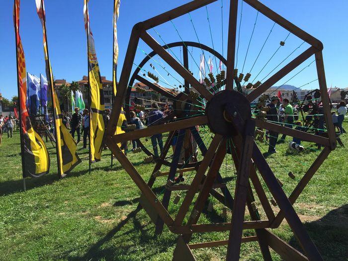Marseille Windfestival Kites Musicalwindinstruments Blue Sky