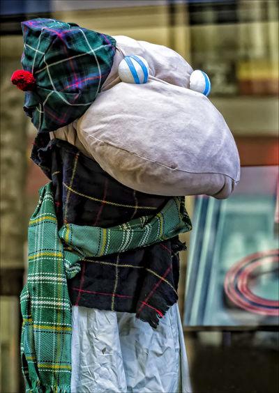 Loch Ness Monster Puppet Ethnic Pride Loch Nesws Monster Puppet Puppet Tartan Day Parade NYC 2017