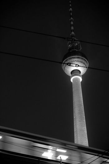 monolights Alexanderplatz Berlin Berliner Ansichten Berliner Fernsehturm Black And White Black And White Photography Capturing Movement Cityscapes Darkness And Light Eye4photography  EyeEm Best Shots Light And Shadow Monochrome Monochrome Photography Open Edit S-bahn S-Bahn Berlin Schwarzweiß Schwarzweißfotografie Subway Tower Train TV Tower Urban Urbanphotography