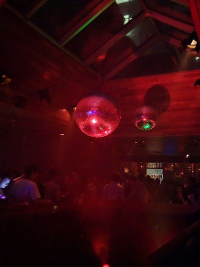 Disco Discoball Club Clubsocial Club Night NYC NYCNights Nycnightlife Smoke Lights Lights And Shadows Dark Darkness And Light Dancing Music