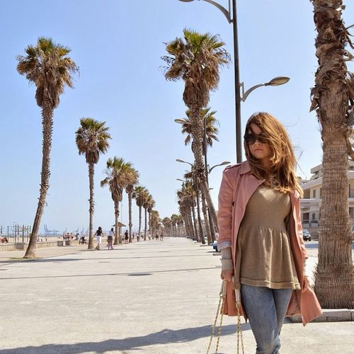 Bye Summer Fashion Look Blog Outfit Trench Pink