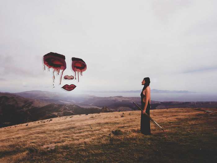 In the war against reality, imagination is your only weapon. Photography Photographer Conceptual Conceptual Photography  Surrealism Surrealist Art Surreal Photoshop Art Artist Landscape Nature Face Painting Woman Woman Portrait Portrait Portrait Photography Portrait Of A Woman Self Portrait Young Women Countryside First Eyeem Photo