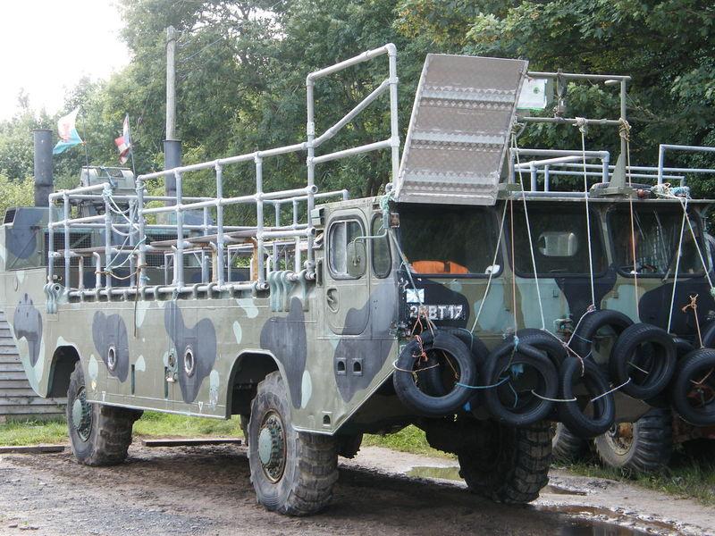 Amphibious Vehicle Day Land Vehicle No People Outdoors Russian Truck Sea Vehicle Pembrokeshire Pembrokeshire Coast Caldey Island
