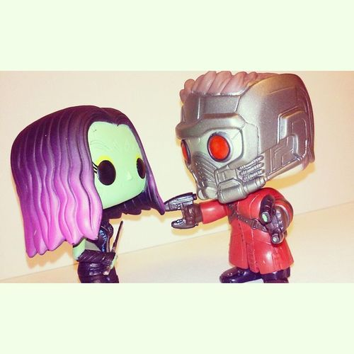 I will not circum to your pelvic sorcery peter quill!! Adorable Funkopop Collecting Figure Starlord Gamora Peterquill Cute GaurdiansOfTheGalaxy Bobblehead Marvel Mcu Comics Zoeysaldana Chrispratt