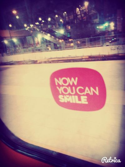 now you can smile ;) Notes From The Underground Public Transportation Life Is Hard But I Will Move On !!!