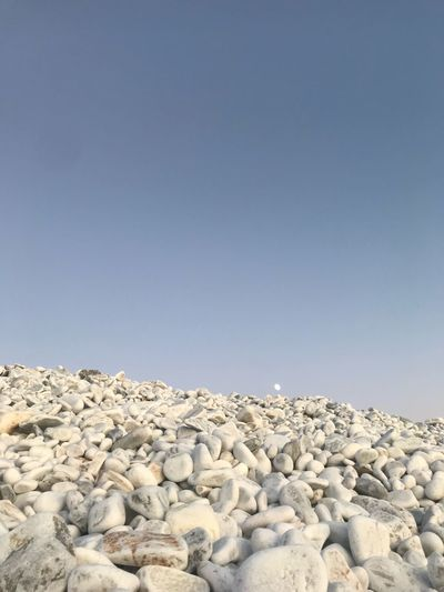 Pisa Italy Sky Solid Rock Copy Space Clear Sky Day Beauty In Nature Rock - Object Blue Stone Stone - Object Land