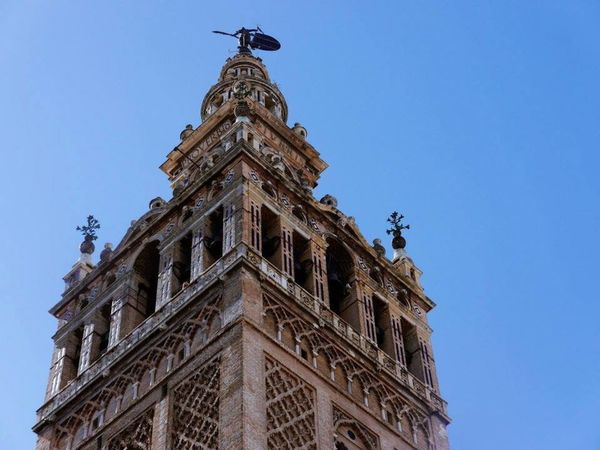 Miles Away SevilleSpain Look closer and look it up in the Bible. Giralda, the bell tower of one of the largest churches in the world. EyeEmNewHere The Architect - 2017 EyeEm Awards Budget Traveller diy itinerary Your Ticket To Europe