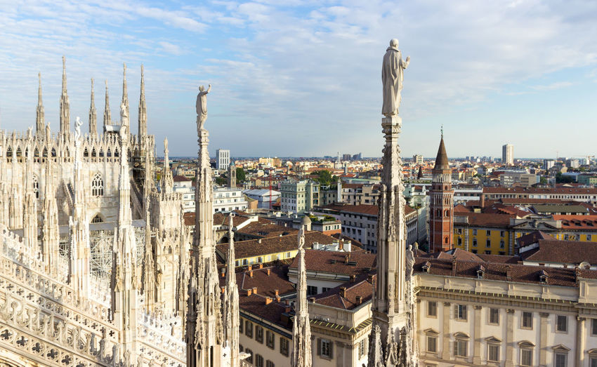 Milan Cathedral By Residential District