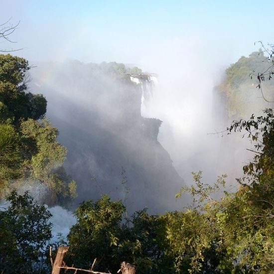Zimbabwe Victoriafalls Waterfall Huge wondersoftheworld zambezi river