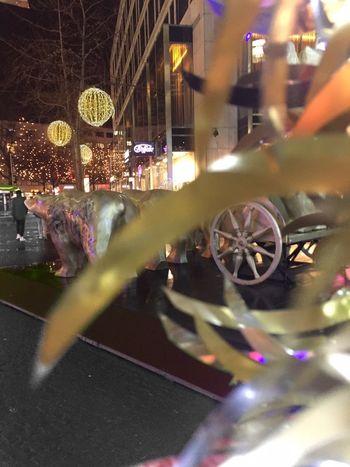 Berlin Kudamm Christmas Lights Night City Germany GERMANY🇩🇪DEUTSCHERLAND@ Outdoors Evening Shopping ♡ Rainy Days Rainy