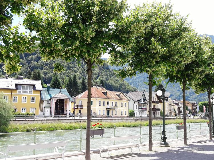 Austria Outdoors Enjoying Life Architecture Buildings Trees River Pretty