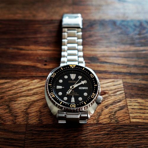 turtle Seiko Prospex Srp775k1 Diver Dive Watch Clock Face Minute Hand Clock Time Wristwatch Watch Pocket Watch Timer Old-fashioned Retro Styled