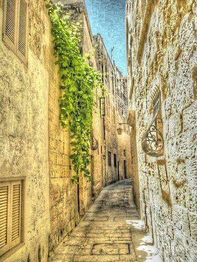 Beautiful small streets of Mdina in Malta Malta Streets Mdina Visiting Malta Malta