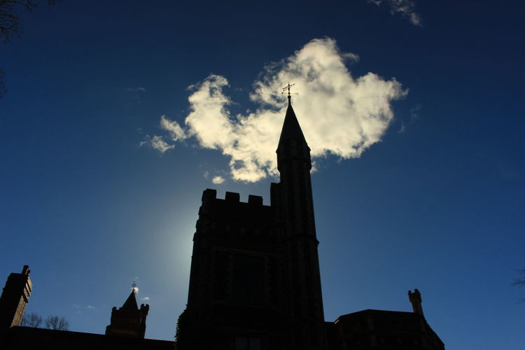 Architecture Built Structure Cloud - Sky Day History Low Angle View Saltwell Park Saltwell Towers Sky Tower