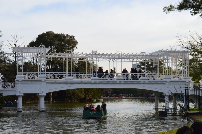 Palermo Buenos Aires Rosedal Buenos Aires Architecture Boat Bridge - Man Made Structure Buenosaires Built Structure City Connection Day Lifestyles Nature Recoleta River Water First Eyeem Photo