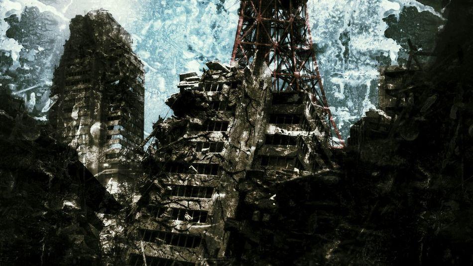 庵野秀明 特撮博物館にて。In Hideaki Anno's Special effects movies Museum, Stage set. Specialeffect Movieset Photo