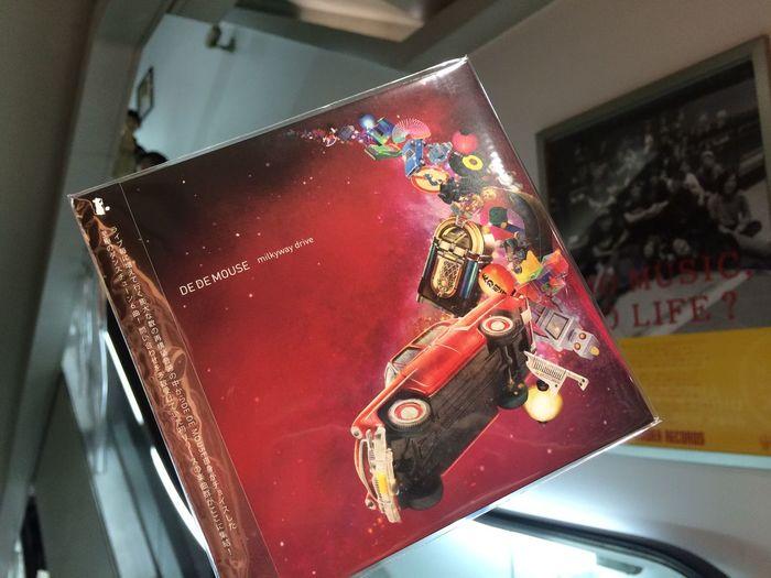"DE DE MOUSE new EP ""milkyway drive"" ゲット!*\(^o^)/*"