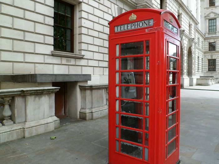Lonesome red Historical Place Getting In Touch Connection Day Travel Footpath Red Pavement Telephone Box Communication Telephone Outdoors International Landmark Capital Cities  Travel Destinations London Tourism Sidewalk No People Famous Place British Culture Street Phone Booth Red Telephone Box London Lifestyle