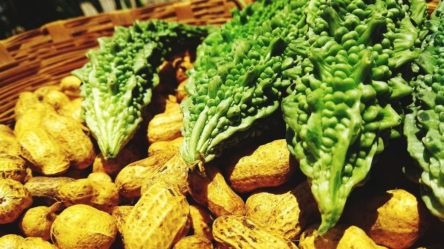 Close-up of vegetables at market stall