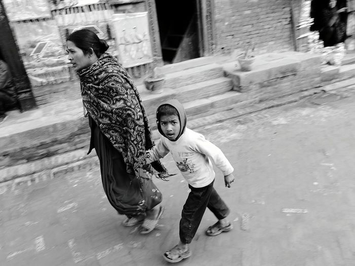 Glitch Nepali  Boy Bw Black & White Capturing Movement Nepal