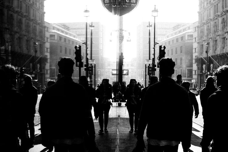 Army Fujifilm_xseries Streetphotography LONDON❤ London Architecture Real People City Group Of People Built Structure Large Group Of People Street Building Exterior Crowd Men Women Building Adult Lifestyles Walking City Life Rear View Silhouette Day Outdoors Festival