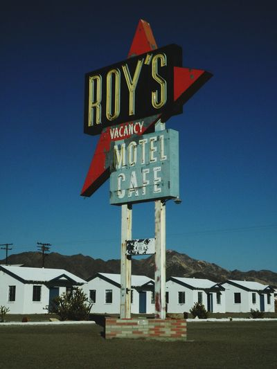 Amboy , California ... between Needles and Barstow on old Route 66, not much is left yet it still stands thanks to so.eone who wants to keep the town alive. a pkace full of atmosphere and mood, I live driving out here to get away from it all. Amboy Route 66 In The Desert Motel