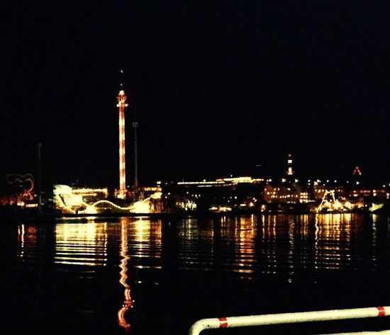 Gröna Lund amusement park stockholm night Architecture built structure illuminated building exterior Reflection City Transportation nautical vessel tower no people river Clear sky water outdoors sky Nature (null Waysofseeing Amusement Park Night Architecture Built Structure Illuminated Building Exterior Reflection City Transportation Nautical Vessel Tower No People River Clear Sky Water Outdoors Sky Nature (null) Capital City Cityscape EyeEmNewHere Eyem Best Shots EyeEm Low Angle View