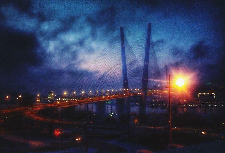 Bridge Good Evening Street Light Street Photography