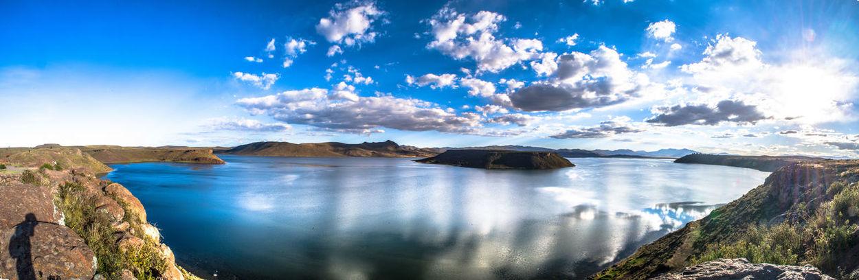 Amazing View Beautiful Nature Blue Sky Lake Panorama Peru Sillustani South America Stunning Travel Destinations Traveling EyeEmNewHere
