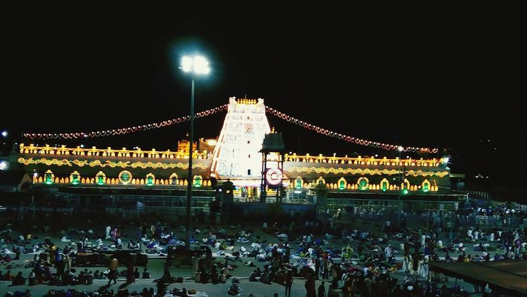 Asia 2nd largest temple by its gold worthNo People Tamilian Built Structure Tamilnadu Architecture Indiantemple Thirupathi Lenovok4notephotography LenovoVIBE Lenovotography Lenovok4note Outdoors