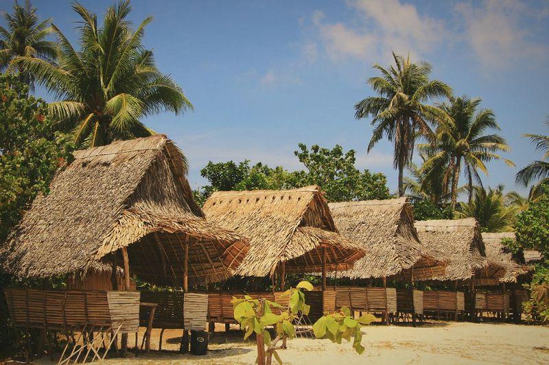 Nipa Hut Pattern Beach Life Is A Beach Relaxing Cottage Calaguas Island The Week On EyeEm Eyeem Philippines