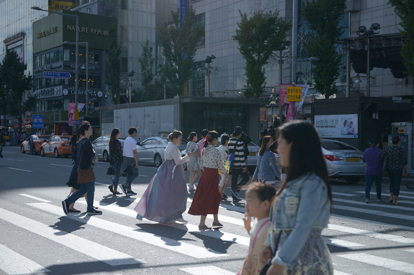 Group Of People City Architecture Women Built Structure Building Exterior Street Real People Men Adult Crowd Walking Large Group Of People Day Lifestyles City Life Motion Transportation Road Outdoors
