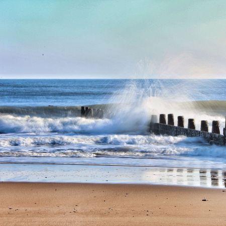 Waves Beach Blyth Seaside