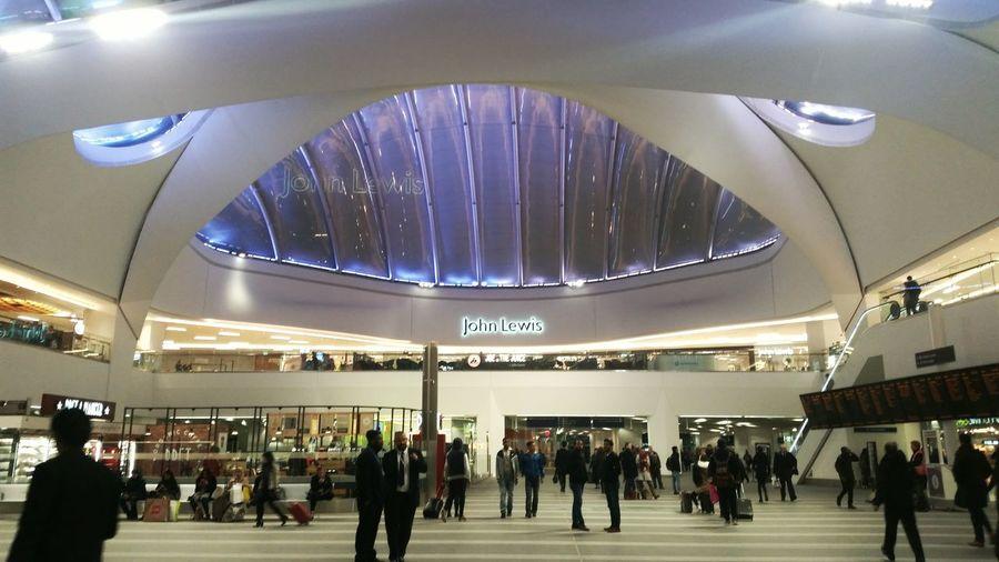 Birmingham Birmingham New Street Train Station Interior Architecture