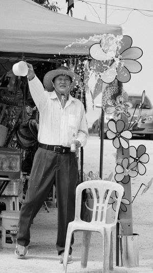 Cowboy Hat Monochrome Splash Candid Streetphotography Life Monochorme