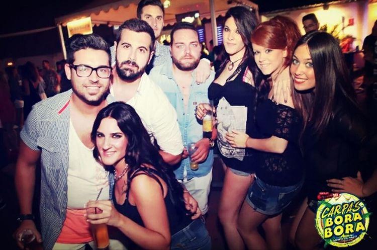Family in Carpas BoraBora! BoraBora Summer'14 Angel, Fran & Toni Melany, Soraya, Sandra & Mika