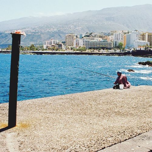 Angler Seaside Street Photography Canary Islands Urban Escape Landscape